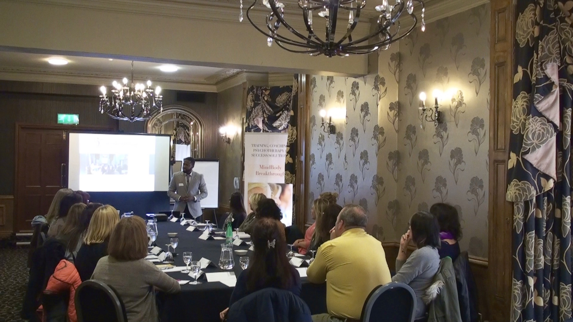 Barnsley GAD and Panic Recovery Event - Wale Oladipo