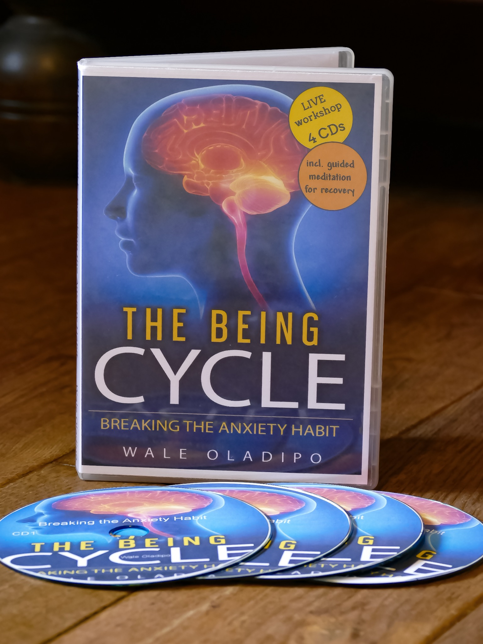 The Being Cycle: Breaking the anxiety habit-Live Workshop Audio Programme
